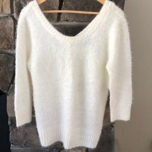 Incredibly Soft V-Back Sweater!
